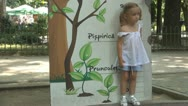 Stock Video Footage of Child Playing and Checking her Tall, Mother Measuring Little Girl Tall, Children