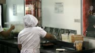 Restaurant Kitchens, Cooking, Chefs, Foods, Cuisines Stock Footage