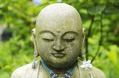 Stone Buddha Stock Photos