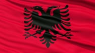Stock Video Footage of Waving national flag of Albania