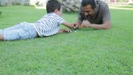 Father and son 2 Stock Footage