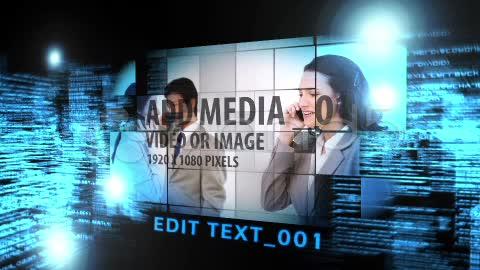 After Effects Project - Pond5 Digital Light Flythrough 11314983