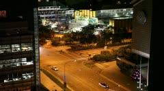 Singapore street Stock Footage