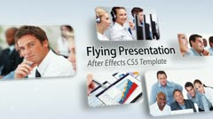 Stock After Effects of Flying Presentation - After Effects Template