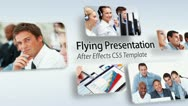 Stock After Effects of Flying Presentation
