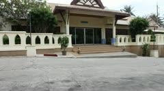 Thai house Stock Footage