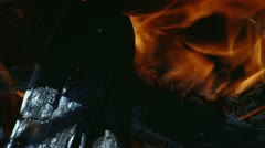 Fire, flame - stock footage