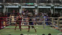 Thai Boxing Stock Footage