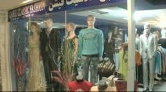 Kabul city Mall Afghanistan Stock Footage