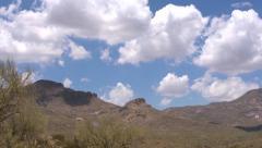 Arizona Butte Timelapse - stock footage