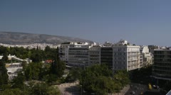 Athens Greece Parlament 4 - stock footage