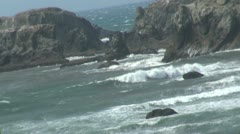 OregonCoasts with Truck noise - stock footage