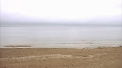 A beach by the sea Stock Footage