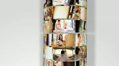 Montage Images Multi Ethnic Brides Preparing Wedding Day Stock Footage
