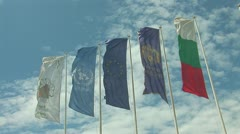 Flags 4 Stock Footage