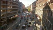 Kungsgatan, Stockholm Stock Footage