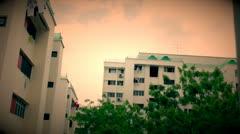 HDB Sky Time Lapse (1) (HD) Stock Footage