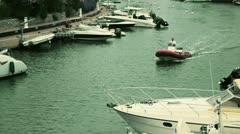 Barco puente - stock footage
