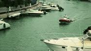 Barco puente Stock Footage