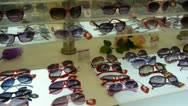 Stock Video Footage of sunglasses at the mall.