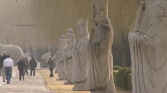 Ming Tombs Beijing - stock footage