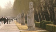 Stock Video Footage of Ming tombs in Beijing