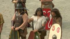 Gaul warrior 04 Stock Footage
