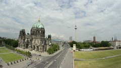 Berlin Streets Stock Footage