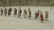 Stock Video Footage of roman gaul arena 02