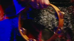 Gipsy Music, Tambourine Stock Footage