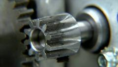 10707 moving cogs gear wheel Stock Footage