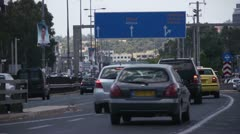 Athens highway 2 - stock footage