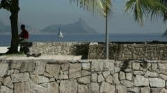Coast of Rio De Janeiro / Brazil. Stock Footage