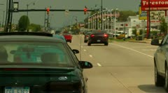 Highway Traffic Scene (HD) - stock footage