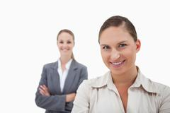 Sales persons posing Stock Photos