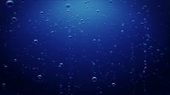 Underwater bubbles Stock Footage