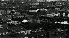 Roof ridges, Stockholm Stock Footage