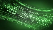 Percentages as seen on Stock Market Stock Footage