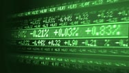 Trading figures as seen on Stock Market Stock Footage