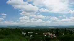 Cuernavaca Mexico Valley Timelapse Stock Footage