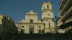 Church in Santa Marinella (near Sorrento) Stock Footage