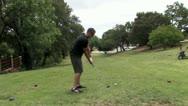720p Golfing 60 Stock Footage