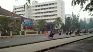 Traffic in Jakarta Indonesia Stock Footage