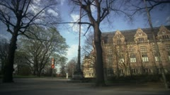 The Nordic Museum, Stockholm Stock Footage