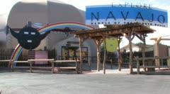 Explore Navajo Interactive Museum Stock Footage