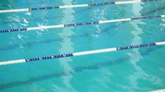 Stock Video Footage of Competitions in swimming pool