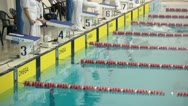Stock Video Footage of Swimming competitions