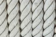Stock Photo of White rope