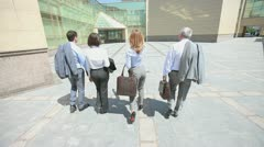 On the way to success Stock Footage