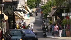 Athens street 10 - stock footage